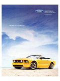 2005 Mustang-Work in a Cubicle Posters
