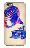 Gramophone 2 iPhone 6 Plus Case by  NaxArt