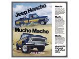 1976 Jeep Honcho - Mucho Macho Prints