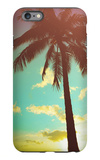 Retro Styled Hawaiian Palm Tree iPhone 6s Plus Case by Mr Doomits