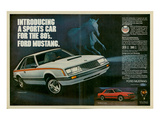 1980 Mustang '80S Sports Car Prints