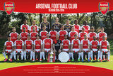 Arsenal- Team 15/16 Print