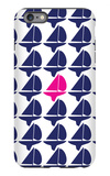Navy Pink Regatta iPhone 6 Plus Case by  Avalisa