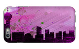 Vancouver City Skyline iPhone 6 Plus Case by  NaxArt