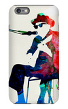 Johnny Lee Hooker Watercolor iPhone 6 Plus Case by Lora Feldman