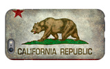 California State Flag With Distressed Treatment iPhone 6s Plus Case by Bruce stanfield