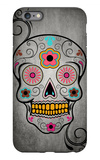 Sugar Skull iPhone 6 Plus Case by  Lantern Press