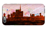 Milan City Skyline iPhone 6s Plus Case by  NaxArt