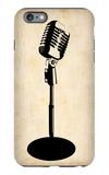Vintage Microphone iPhone 6 Plus Case by  NaxArt