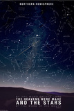 Star Map- Psalm 88:6 Prints