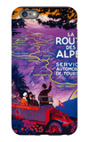 La Route Des Alpes Vintage Poster - Europe iPhone 6s Plus Case by  Lantern Press
