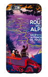 La Route Des Alpes Vintage Poster - Europe iPhone 6 Plus Case by  Lantern Press