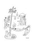 New Yorker Cartoon Giclee Print by Saul Steinberg