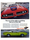 1971 Dogde Charger Super Bee Art