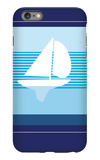 Navy Sail iPhone 6 Plus Case by  Avalisa