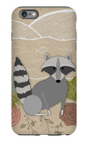 Spring Time Raccoon iPhone 6s Plus Case by  Lantern Press