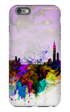 Taipei Watercolor Skyline iPhone 6 Plus Case by  NaxArt