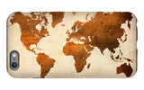 World  Map 7 iPhone 6s Plus Case by  NaxArt