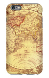 Vintage Map Eastern iPhone 6 Plus Case by Malcolm Watson