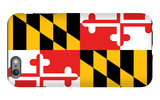 Maryland - State Flag iPhone 6 Plus Case by  Lantern Press