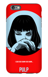 Pulp Poster 1 iPhone 6 Plus Case by Anna Malkin