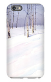Winter Landscape with Birch Trees iPhone 6 Plus Case