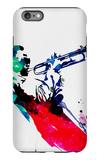 Miles Watercolor iPhone 6 Plus Case by Lora Feldman