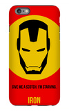 Iron Poster 1 iPhone 6s Plus Case by Anna Malkin