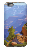 Grand Canyon National Park - Bright Angel Trail iPhone 6 Plus Case by  Lantern Press