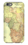 1922 Africa Map with portions of Europe and Asia iPhone 6 Plus Case by  National Geographic Maps