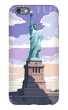 Statue of Liberty National Monument - New York City, NY iPhone 6 Plus Case by  Lantern Press
