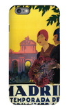 Madrid, Spain - Madrid in Springtime Travel Promotional Poster iPhone 6 Plus Case by  Lantern Press