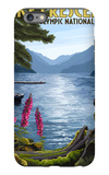Olympic National Park, Washington - Lake Crescent iPhone 6s Plus Case by  Lantern Press