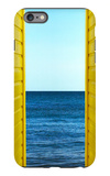 2 Yellow Beach Huts iPhone 6 Plus Case by Andy Bell