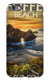 Pfeiffer Beach, California iPhone 6 Plus Case by  Lantern Press