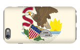 Illinois State Flag iPhone 6 Plus Case by  Lantern Press