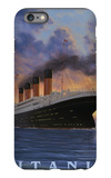 Titanic Scene - White Star Line iPhone 6 Plus Case by  Lantern Press