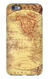 Vintage Map Western iPhone 6 Plus Case by Malcolm Watson