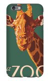Visit the Zoo, Giraffe Up Close iPhone 6 Plus Case by  Lantern Press