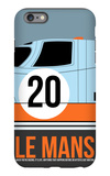 Le Mans Poster 2 iPhone 6s Plus Case by Anna Malkin