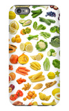 Collection Of Fruits And Vegetables iPhone 6 Plus Case by  egal