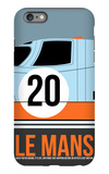 Le Mans Poster 2 iPhone 6 Plus Case by Anna Malkin