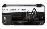 "Words ""Once Upon A Time"" Written With Old Typewriter iPhone 6 Plus Case by  foodbytes"