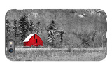 Red Barn iPhone 6 Plus Case by  dbriyul