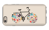Vintage Hipsters Icons Bike iPhone 6s Case by  cienpies