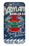 Baltimore, Maryland - Blue Crabs iPhone 6 Plus Case by  Lantern Press