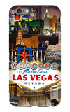 Las Vegas Casinos and Hotels Montage iPhone 6s Plus Case by  Lantern Press