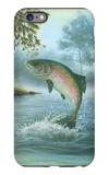 Rainbow Trout Jumping iPhone 6 Plus Case