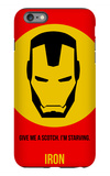 Iron Poster 1 iPhone 6 Plus Case by Anna Malkin