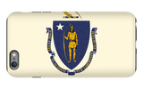 Massachusetts State Flag iPhone 6 Plus Case by  Lantern Press